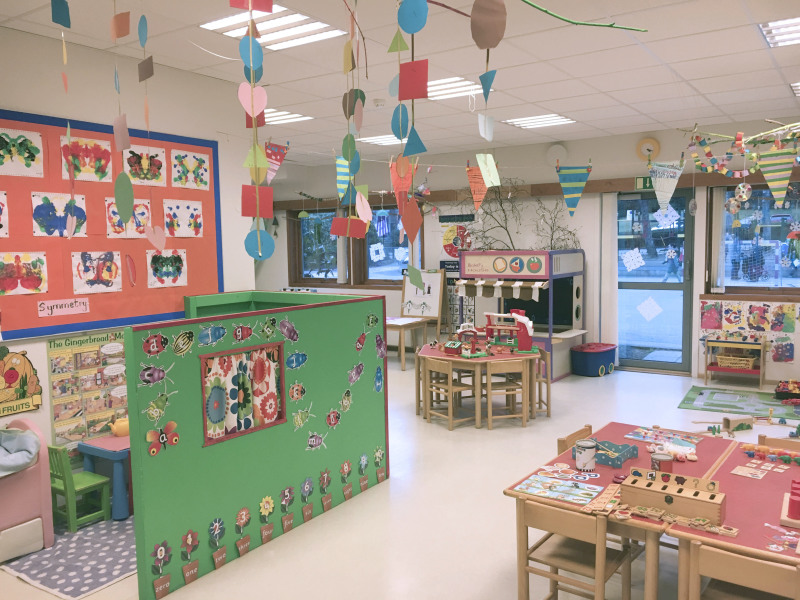 British International Pre-school, et klasserom, jpg