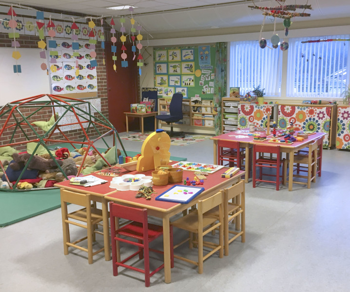 British International Pre-school, klasserom, jpg