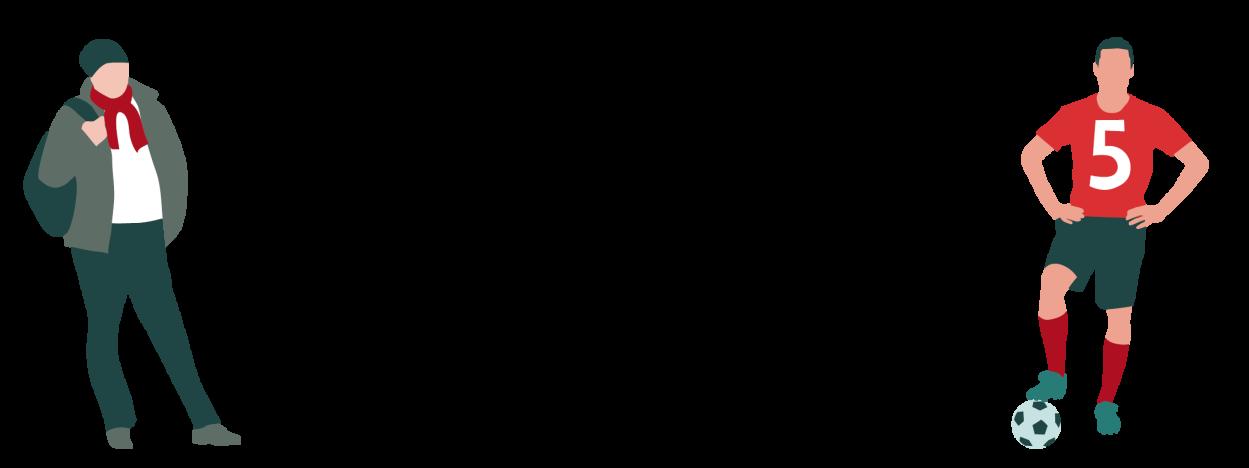 Korona-illustrasjon av personer