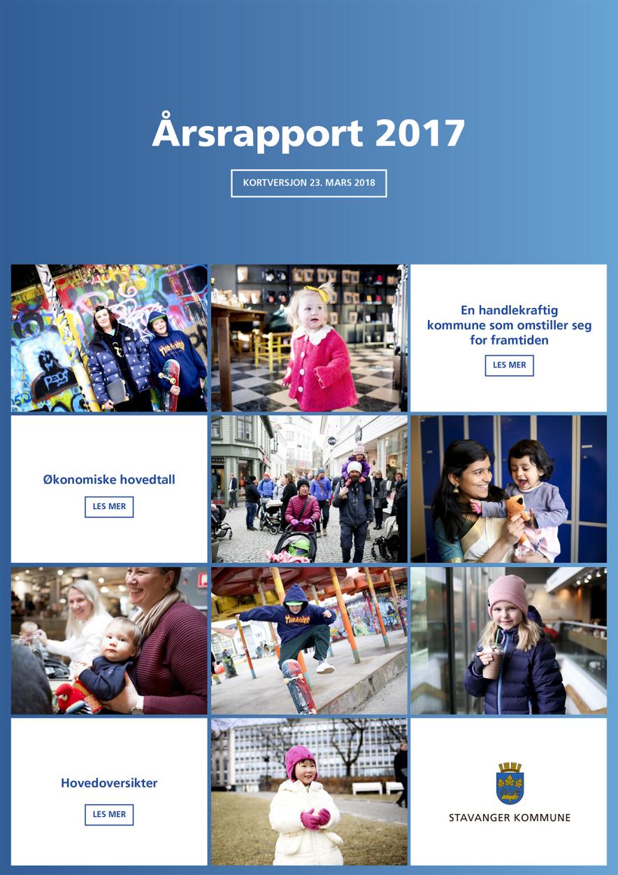 Arsrapport 2017 Stavanger Kommune