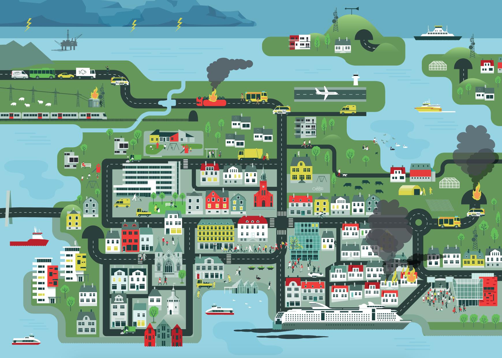 Helhetlig Risiko Og Sarbarhetsanalyse For Stavanger Kommune Stavanger Kommune