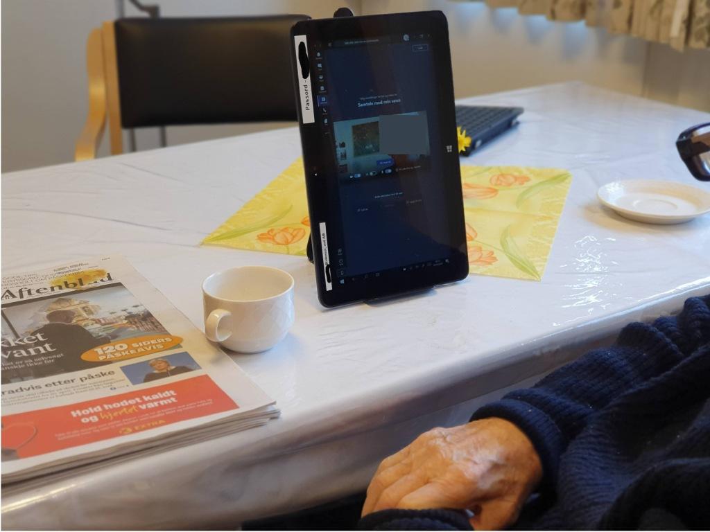 Na Kan Du Holde Kontakt Med Bestemor Digitalt Stavanger Kommune